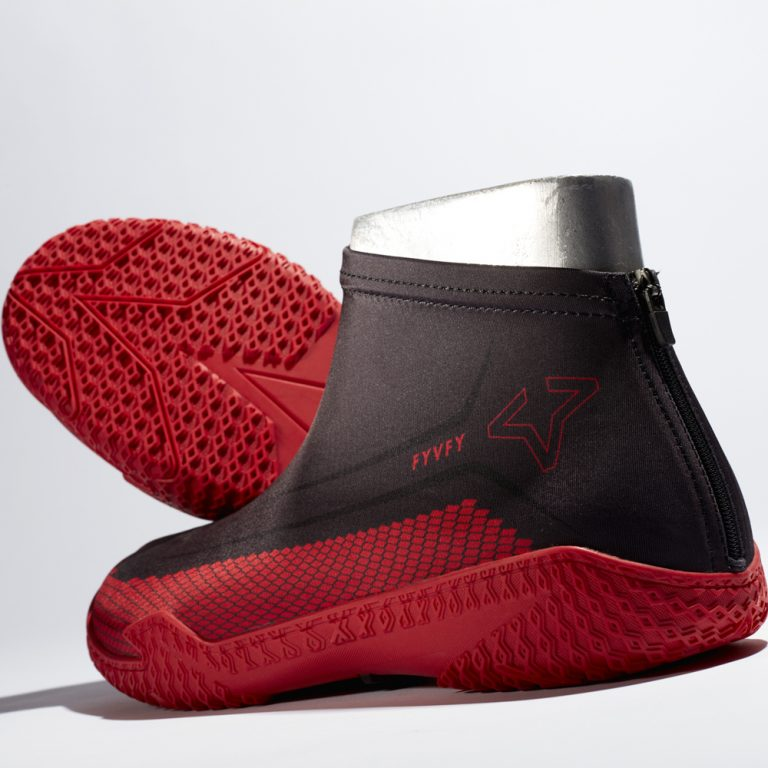 Red Hive FY-DENY basketball shoe cover