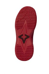 Red Hive FY-DENY I Basketball Shoe Cover bottom view