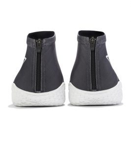 Gray Flow FY-DENY I Basketball Shoe Cover rear view