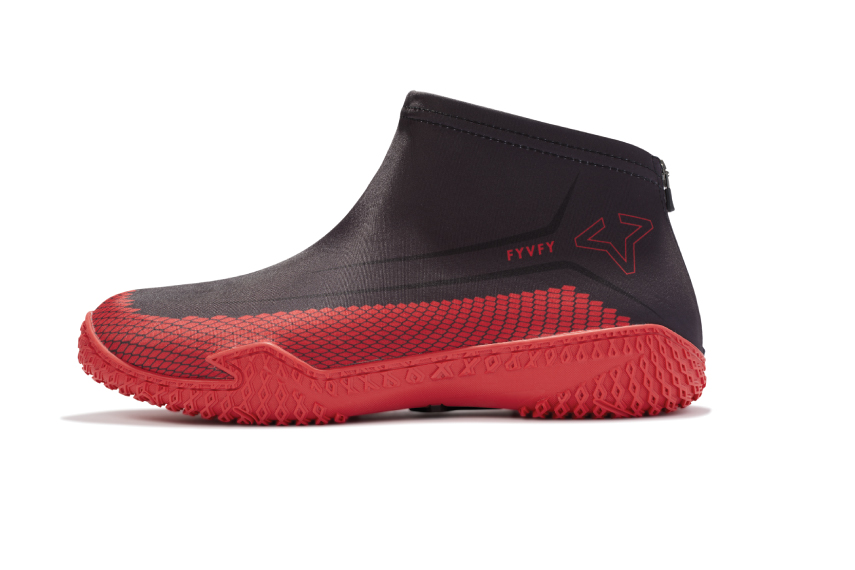 Red Hive FY-DENY I Basketball Shoe Cover side view