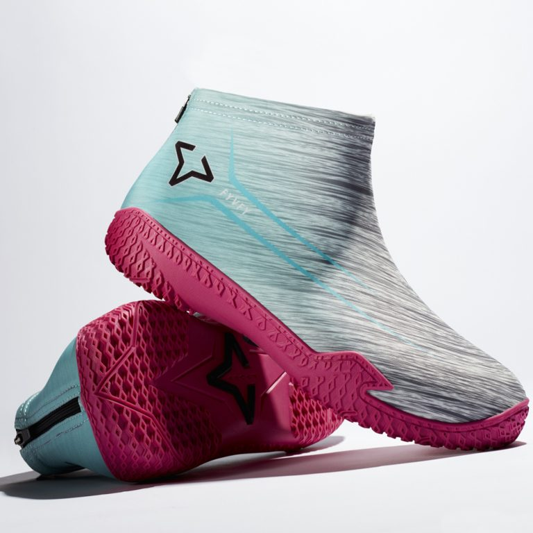 Pink Flow FY-DENY basketball shoe cover