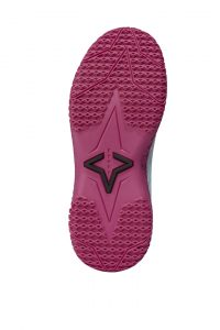 Pink Flow FY-DENY I Basketball Shoe Cover bottom view