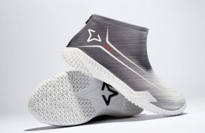 Gray Flow FY-DENY basketball shoe covers