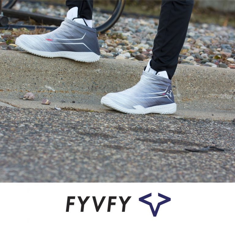 Gray Flow FYVFY shoe covers