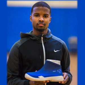 Man holding FYVFY's FY-DENY I Basketball Shoe Cover
